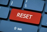 cara reset laptop